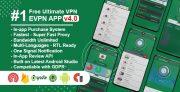 eVPN – Free Ultimate VPN | Android VPN, Billing, Phone Booster, Admob / Push Notification